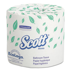 Picture of Standard Roll Bathroom Tissue, 2-Ply, 550 Sheets/Roll