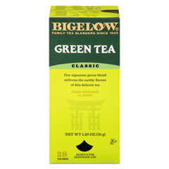 Picture of Single Flavor Tea, Green, 28 Bags/Box