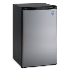 "Picture of 4.4 CF Refrigerator, 19 1/2""W x 22""D x 33""H, Black/Stainless Steel"