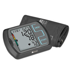 Picture of Ultra Digital Blood Pressure Monitor w/Adult, Large Adult Cuffs,4 AA Batteries