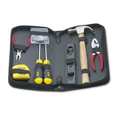 Picture of General Repair 8 Piece Tool Kit in Water-Resistant Black Zippered Case