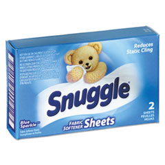 Picture of Vend-Design Fabric Softener Sheets, Blue Sparkle, 2 Sheets/Box, 100 Boxes/Carton
