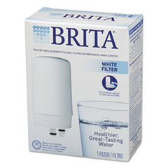 Picture of On Tap Faucet Water Filter System Replacement Filters, White