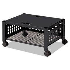 Picture of Underdesk Machine Stand, One-Shelf, 21 1/2w x 17 7/8d x 11 1/2h, Black