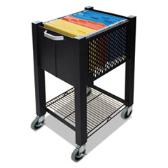 Picture of InstaCart Sidekick File Cart, 14-1/4w x 16-1/4d x 27-3/4h, Black