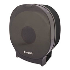 Picture of Single Jumbo Toilet Tissue Dispenser, 1 Jumbo Roll, Smoke Black,5.562x10x11 7/8