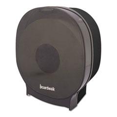 Picture of Single Jumbo Toilet Tissue Dispenser, 1 Jumbo Roll, Smoke Black,5.562x10x11 7/8