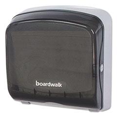 Picture of Mini Folded Towel Dispenser, 5 3/8 x 12 3/8 x 13 7/8, Smoke Black