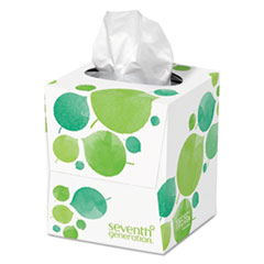 Picture of 100% Recycled Facial Tissue, 2-Ply, 85/Box