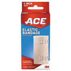 "Picture of Elastic Bandage with E-Z Clips, 4"" x 64"""