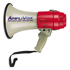 Picture of MityMeg Piezo Dynamic Megaphone, 15W, 5/8 Mile Range