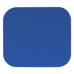 Picture of Polyester Mouse Pad, Nonskid Rubber Base, 9 x 8, Blue