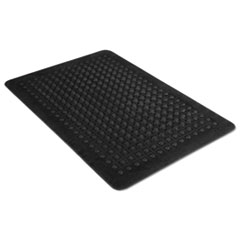 Picture of Flex Step Rubber Anti-Fatigue Mat, Polypropylene, 24 x 36, Black
