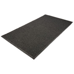 Picture of EcoGuard Indoor/Outdoor Wiper Mat, Rubber, 24 x 36, Charcoal
