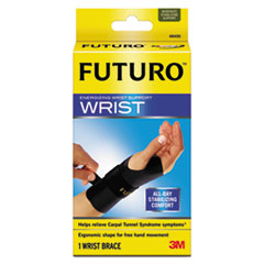 "Picture of Energizing Wrist Support, S/M, Fits Right Wrists 5 1/2""- 6 3/4"", Black"