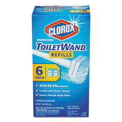 Picture of Disinfecting ToiletWand Refill Heads, 6/Pack