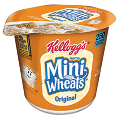 Picture of Breakfast Cereal, Frosted Mini Wheats, Single-Serve, 6/Box