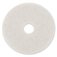 "Picture of Standard Polishing Floor Pads, 14"" Diameter, White, 5/Carton"