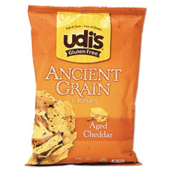 Picture of Gluten Free Ancient Grain Crisps, Aged Cheddar, 4.93 oz Bag