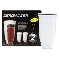 Picture of ZeroWater Replacement Filtering Bottle Filter, 2/Pack