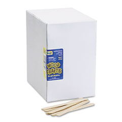 Picture of Natural Wood Craft Sticks, 4 1/2 x 3/8, Wood, Natural, 1000/Box