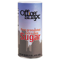 Picture of Reclosable Canister of Sugar, 20 oz