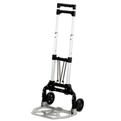 Picture of Stow & Go Cart, 110lb Capacity, 15 1/4w x 16d x 39h, Aluminum