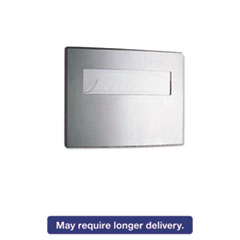Picture of Toilet Seat Cover Dispenser, 15 3/4 x 2 1/4 x 11 1/4, Satin Stainless Steel