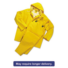 Picture of Rainsuit, PVC/Polyester, Yellow, Medium