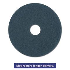 "Picture of Standard Polishing Floor Pads, 16"" Diameter, Blue, 5/Carton"