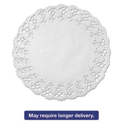 "Picture of Kenmore Lace Doilies, Round, 16 1/2"", White, 500/Carton"