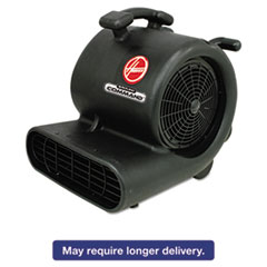 Picture of Ground Command Super Heavy-Duty Air Mover, 12 A, 30lb, Black