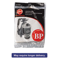 Picture of Disposable Paper Liner for Commercial Backpack Vacuum Cleaner, 7/Pack