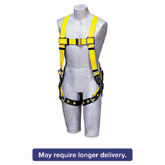 Picture of Full-Body Harness, Tongue Buckles, Back D-Ring, Universal, 420lb Capacity