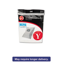 Picture of HEPA Y Filtration Bags for Hoover Upright Cleaners, 2/Pack