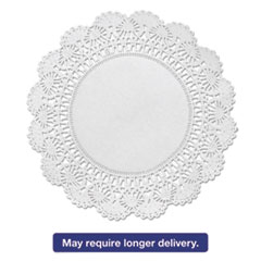 "Picture of Cambridge Lace Doilies, Round, 8"", White, 1000/Carton"