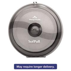 Picture of Sofpull High-Capacity Centerpull Tissue Dispenser, 10 1/2x6 3/4 x10 1/2, Gray