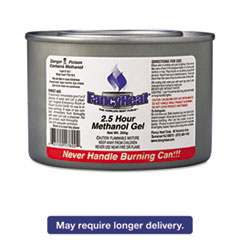Picture of Methanol Gel Chafing Fuel Can, 2 1/2hr Burn, 7oz, 72/Carton