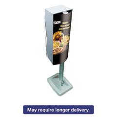 Picture of Mega Cartridge Napkin System Dispenser, 8 3/4 x 6 3/8 x 23 1/4, Gray