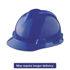 Picture of V-Gard Hard Hats, Staz-On Pin-Lock Suspension, Size 6 1/2 - 8, Blue