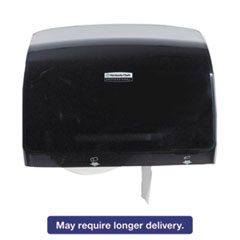 Picture of Coreless JRT Tissue Dispenser, 14 1/10w x 5 4/5d x 10 2/5h, Black