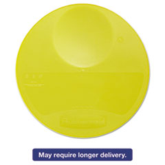 Picture of Round Storage Container Lids, 10 1/4 dia x 1h, Yellow