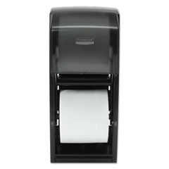 Picture of Coreless Double Roll Bath Tissue Dispenser, 6 6/10 x 6 x13 6/10, Plastic, Smoke