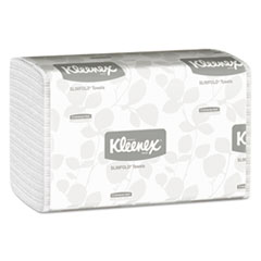 Picture of Slimfold Paper Towels, 7 1/2 x 11 3/5, White, 90/Pack, 24 Packs/Carton