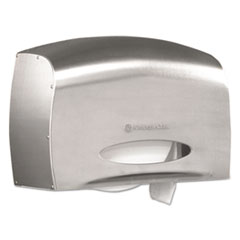 Picture of Coreless JRT Jr. Bath Tissue Dispenser, EZ Load, 6x9.8x14.3, Stainless Steel