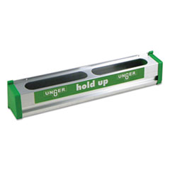 "Picture of Hold Up Aluminum Tool Rack, 18"", Aluminum/Green"