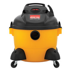 Picture of Right Stuff Wet/Dry Vacuum, 8 Amps, 19lbs, Yellow/Black