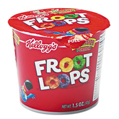 Picture of Froot Loops Breakfast Cereal, Single-Serve 1.5oz Cup, 6/Box