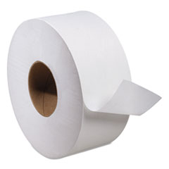 Picture of Advanced Jumbo Roll Toilet Tissue, 2-Ply, 1000ft Roll, White, 12 Rolls/Carton