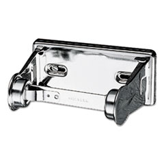 Picture of Locking Toilet Tissue Dispenser, 6 x 4 1/2 x 2 3/4, Chrome